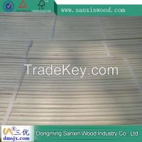 bleached poplar plywood with bending slats