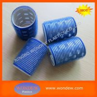 Plastic velcro hair rollers