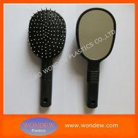 Plastic hair brush