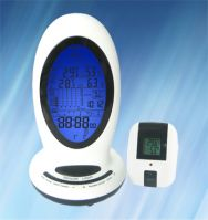 Multifunctional RF Remote Weather Station with AM/FM Radio