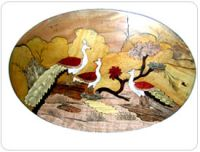 Wooden Inley Paintings