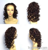 weaving, hair piece, wig, half wig, drawstring, clip hair