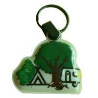 promotional led key chain, keychain, key ring, key holder