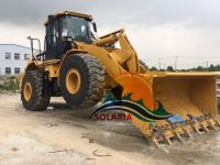 used original China Caterpillar 966H wheel loader for sale