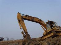 used original Japan Caterpillar 320A crawler excavator for sale