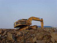 used original Japan Caterpillar 320A crawler excavator for sale