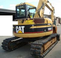 used original Japan Caterpillar 308B crawler excavator for sale