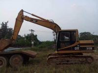 used original Japan Caterpilla 312B crawler excavator for sale