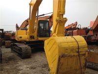 used original Japan Komatsu PC220-6 crawler excavator for sale