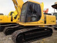 used original Japan Komatsu PC200 crawler excavator for sale