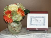 Light Onyx Flower Vase