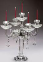 crystal candleholder