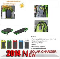 Waterproof Solar Charger with Emergency LED Torch
