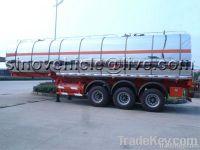 35000L Stainless Steel Oil Tank Semi-trailer