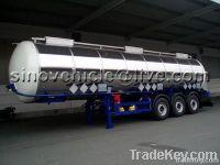 45000L Stainless Steel Edible Oil Semitrailer