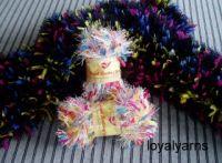 Paper Eyelash Twist Yarn - Hand Knitting Yarn