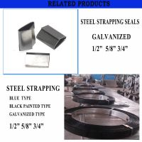 Galvanized Steel Strips , Steel Packing Strap , Steel banding strip , Hoop Iron