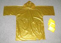 PE/PVC rain coat