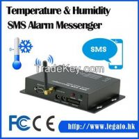 Temperature & Humidity SMS Alarm Messenger