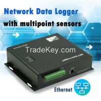 Multipoint Temperature Ethernet Monitoring System