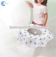 Large disposable travel toilet potty seat covers individually wrapped portable potty shields pregnant kids and toddler