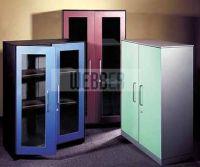 Metal office filing cabinets-swing door cabinet