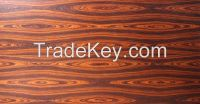 Brizal Santos Rose wood Pre-coated veneer panel