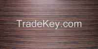 Ebony Pre-coated veneer panel
