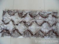 fox fur plate