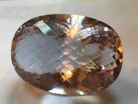 WORLD'S LARGEST Natural Morganite  1652 carats
