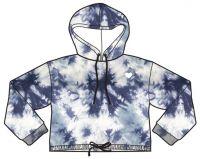 Ladies hoodies sweatshirt, tie die, fashion clothing