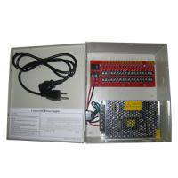 12VDC/10A 18 PTC output CCTV distributed power supply