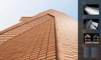 reinforced fibre cement roofing tiles