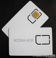 Micro 3G test sim card