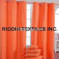 Curtain Fabric and Curtain