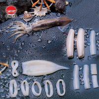 surimi crab stick, squid, shrimp, monkfish, mackerel, fillets