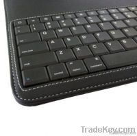 Ipad2 Smart Cover With Bluetooth Keyboard - Polyurethane - Black