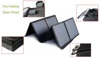 500W portable solar power generator kit