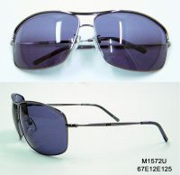 Attractive and Sporty Metal Sunglasses