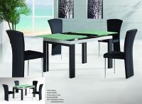 Extendable Glass Dining Table AW8092