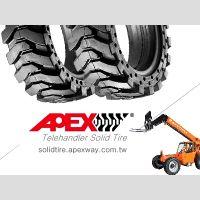 Telehandler Solid Tire