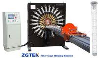 Filter cage welding machine line