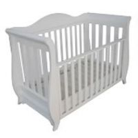 White baby furniture wooden baby cribs OEM