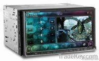 two din car pc with wifi and 3G TV function 6.95inch