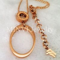 Elegant Lady Crystal Gold Necklace
