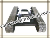 custom built rubber track system track undercarriage from China factory