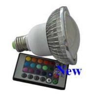 E27 RGB led spotlight