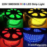 110V 220V 5050 RGB LED Strip Light