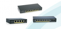 SCSGW-1100P GIGABIT ETHERNET SWITCH POE