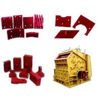 Sand casting of  wear resistance steel: Crusher parts